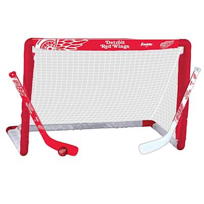 NHL Team Mini Goal Set - DET (Franklin NHL Team Mini Hockey Goal Set - Detroit Red Wings)