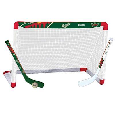 NHL Team Mini Goal Set - MIN (Franklin NHL Team Mini Hockey Goal Set - Minnesota Wild)