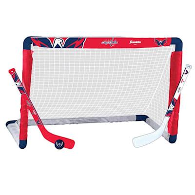NHL Team Mini Goal Set - WAS (Franklin NHL Team Mini Hockey Goal Set - Washington Capitals)