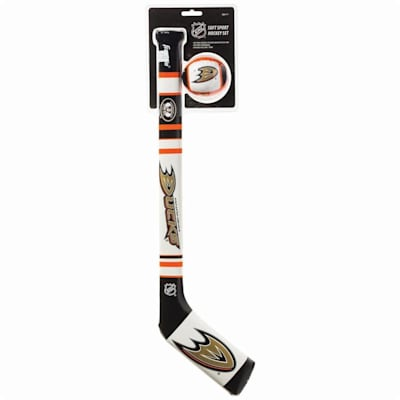 (Franklin NHL Team Soft Sport Mini Hockey Set - Anaheim Ducks)