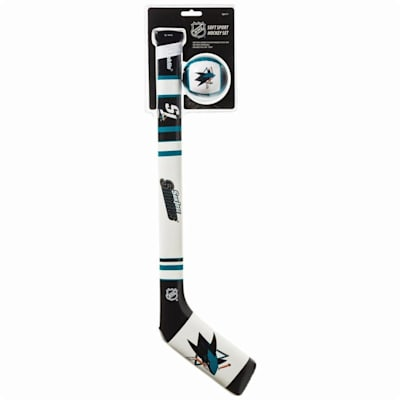 (Franklin NHL Team Soft Sport Mini Hockey Set - San Jose Sharks)