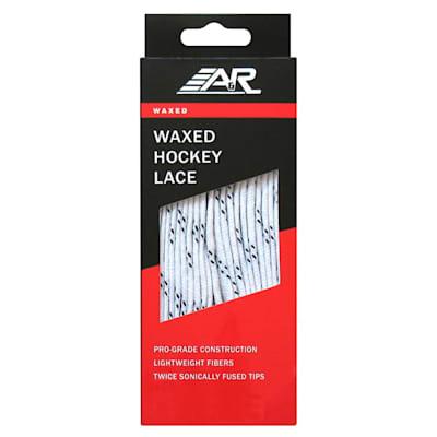 White Waxed (A&R Waxed Hockey Laces)