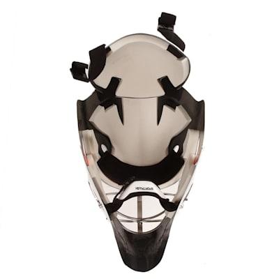 Inside Padding (SportMask X8 Non-Certified Cat Eye Goalie Mask - Senior)