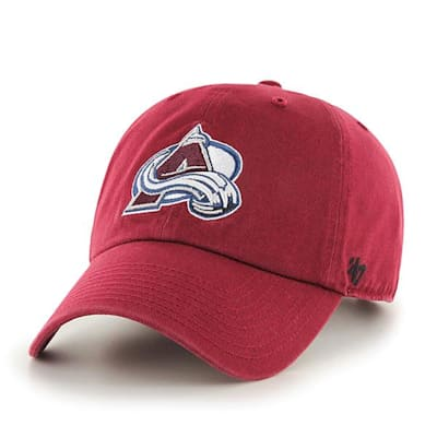 Front (47 Brand Avalanche Clean Up Cap - Cardinal Red)