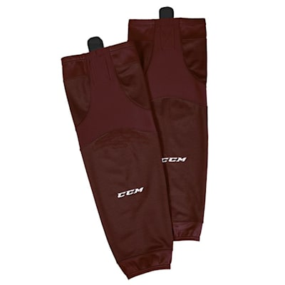 Maroon (CCM SX6000 Practice Sock - Youth)