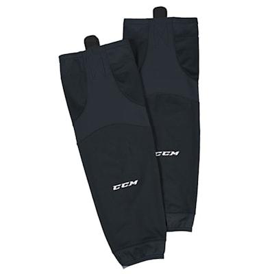 Black (CCM SX6000 Practice Sock - Junior)
