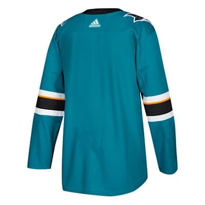Back (Adidas NHL San Jose Sharks Authentic Jersey - Adult)
