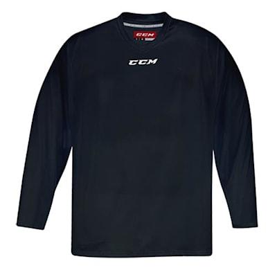Front (CCM 5000 Practice Jersey - Black - Senior)