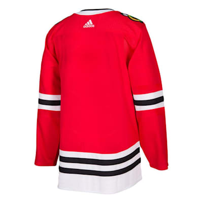Back (Adidas NHL Chicago Blackhawks Authentic Jersey - Adult)