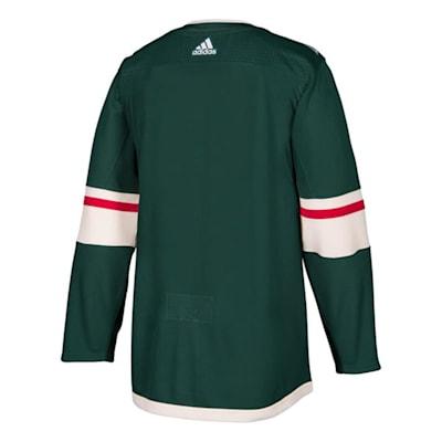 Back (Adidas NHL Minnesota Wild Authentic Jersey - Adult)