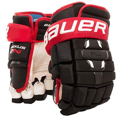 Black/Red (Bauer Nexus 2N Hockey Gloves - Senior)