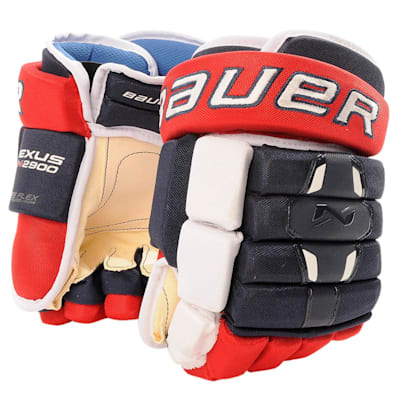 Navy/Red/White (Bauer Nexus N2900 Hockey Gloves - Senior)