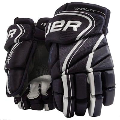 Navy (Bauer Vapor X800 Lite Hockey Gloves - Junior)