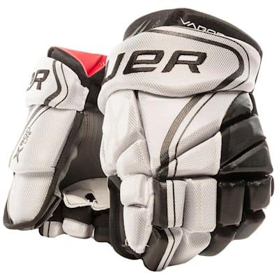 White/Black (Bauer Vapor X800 Lite Hockey Gloves - Junior)