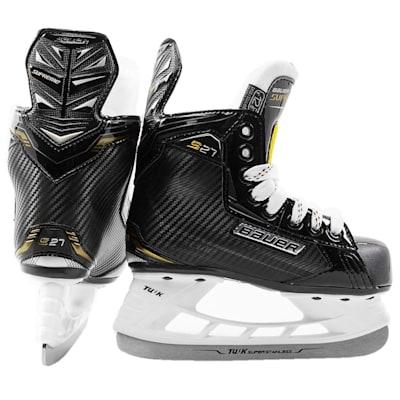(Bauer Supreme S27 Ice Hockey Skates - Youth)