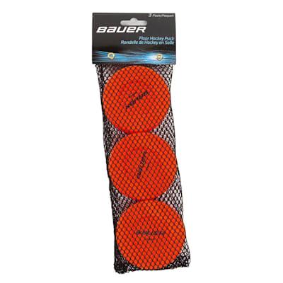 Orange (Bauer Floor Hockey Pucks)