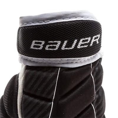 Cuff View (Bauer Performance Street Hockey Gloves - Senior)