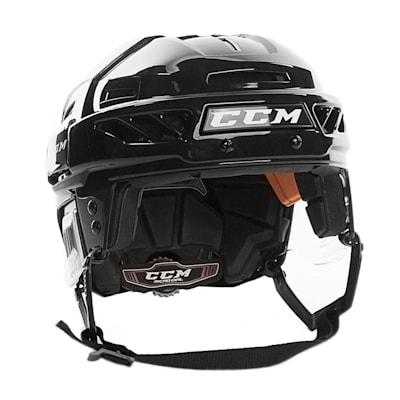Black/Black (CCM Fitlite FL90 Hockey Helmet)