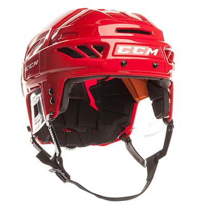 Red/Red (CCM Fitlite FL90 Hockey Helmet)