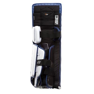 Leg Channel View (Bauer Supreme 2S Pro Goalie Leg Pads - Senior)