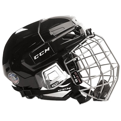 (CCM Fitlite 3DS Junior Hockey Helmet Combo - Junior)