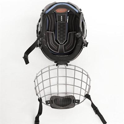 (CCM Fitlite 3DS Junior Hockey Helmet Combo - Junior)