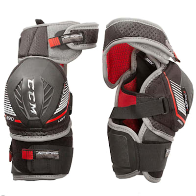 (CCM JetSpeed FT390 Hockey Elbow Pads - Junior)