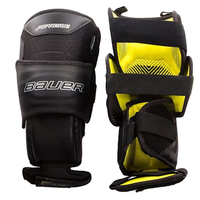 (Bauer Supreme Goalie Knee Guards 2018 - Senior)