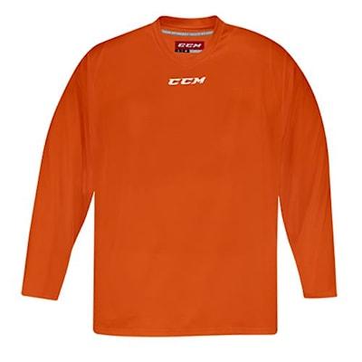 Front (CCM 5000 Practice Jersey - Orange - Junior)