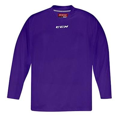 Front (CCM 5000 Practice Jersey - Violet - Senior)