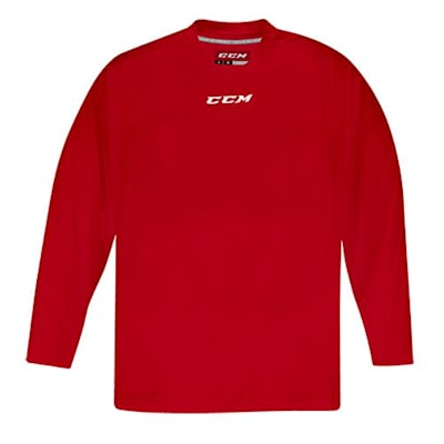 Front (CCM 5000 Practice Jersey - Red - Senior)