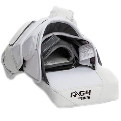 (Warrior Ritual G4 Goalie Catch Glove - Senior)