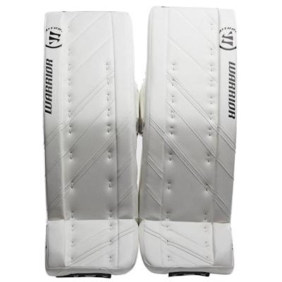 White/White (Warrior Ritual G4 Pro Goalie Leg Pads - Senior)
