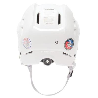 (Warrior Alpha One Hockey Helmet)