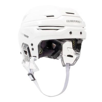 White (Warrior Alpha One Hockey Helmet)