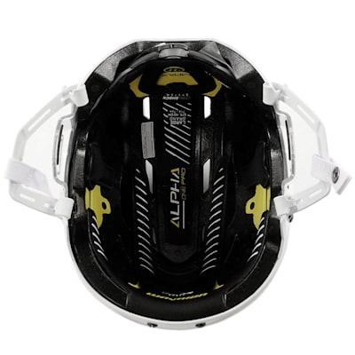 (Warrior Alpha One Pro Hockey Helmet)