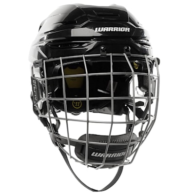 Black (Warrior Alpha One Pro Combo Hockey Helmet)