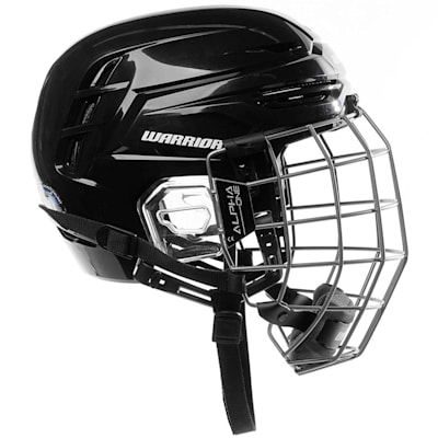 (Warrior Alpha One Pro Combo Hockey Helmet)