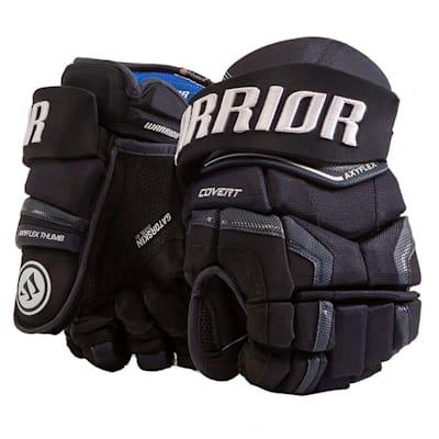 Navy (Warrior Covert QR Edge Hockey Gloves - Senior)