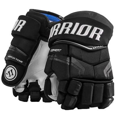 Black (Warrior Covert QRE Pro Hockey Gloves - Junior)