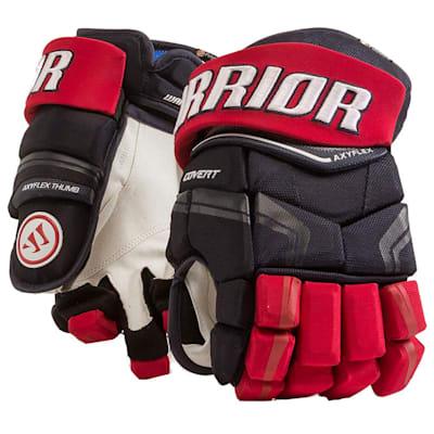 Navy/Red/White (Warrior Covert QRE Pro Hockey Gloves - Junior)