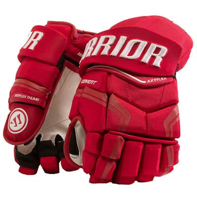Red (Warrior Covert QRE Pro Hockey Gloves - Junior)