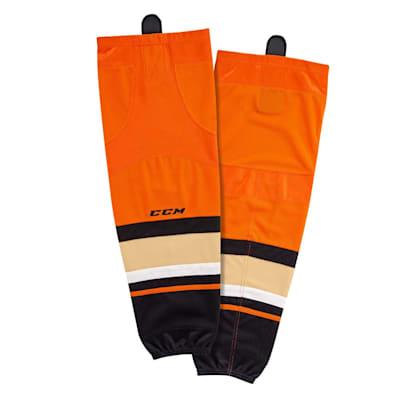 (CCM SX8000 Game Sock - Anaheim Ducks - Junior)