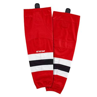 (CCM SX8000 Game Sock - New Jersey Devils - Senior)