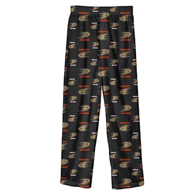 (Adidas Printed Pajama Pants - Anaheim Ducks - Youth)