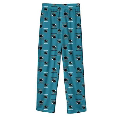 (Adidas Printed Pajama Pants - San Jose Sharks - Youth)