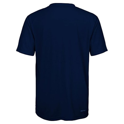 Back (Adidas Buffalo Sabres Avalanche Short Sleeve Tee Shirt - Youth)