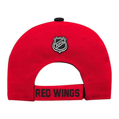 Back (Adidas Detroit Red Wings Basic Youth Hat)