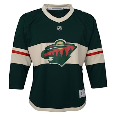 Front (Outerstuff Minnesota Wild Replica Jersey - Youth)