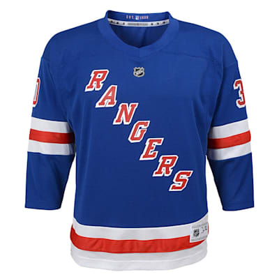 Front (Adidas New York Rangers Lundqvuist Jersey - Youth)